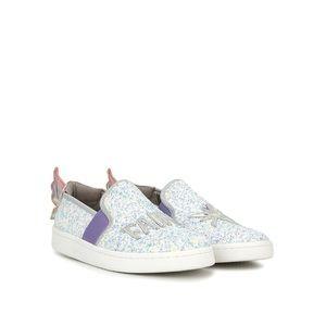 Sam Edelman Fairy Glitter Girl Sneaker US3